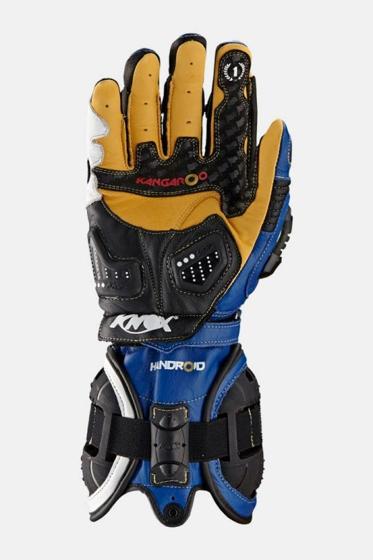 Handroid Motorcycle Gloves V14 Blue
