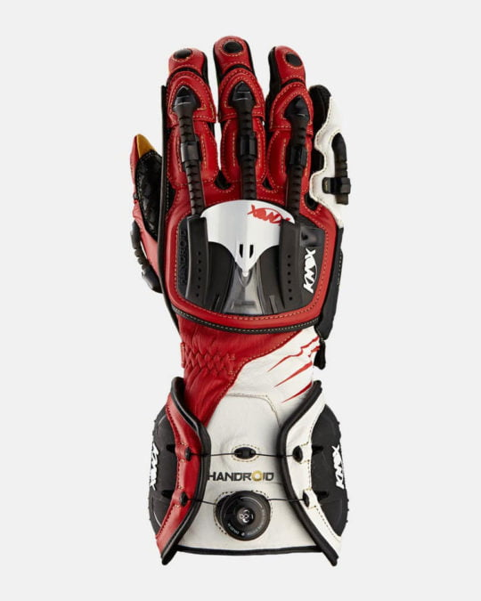 Handroid Motorcycle Gloves V14 - Red