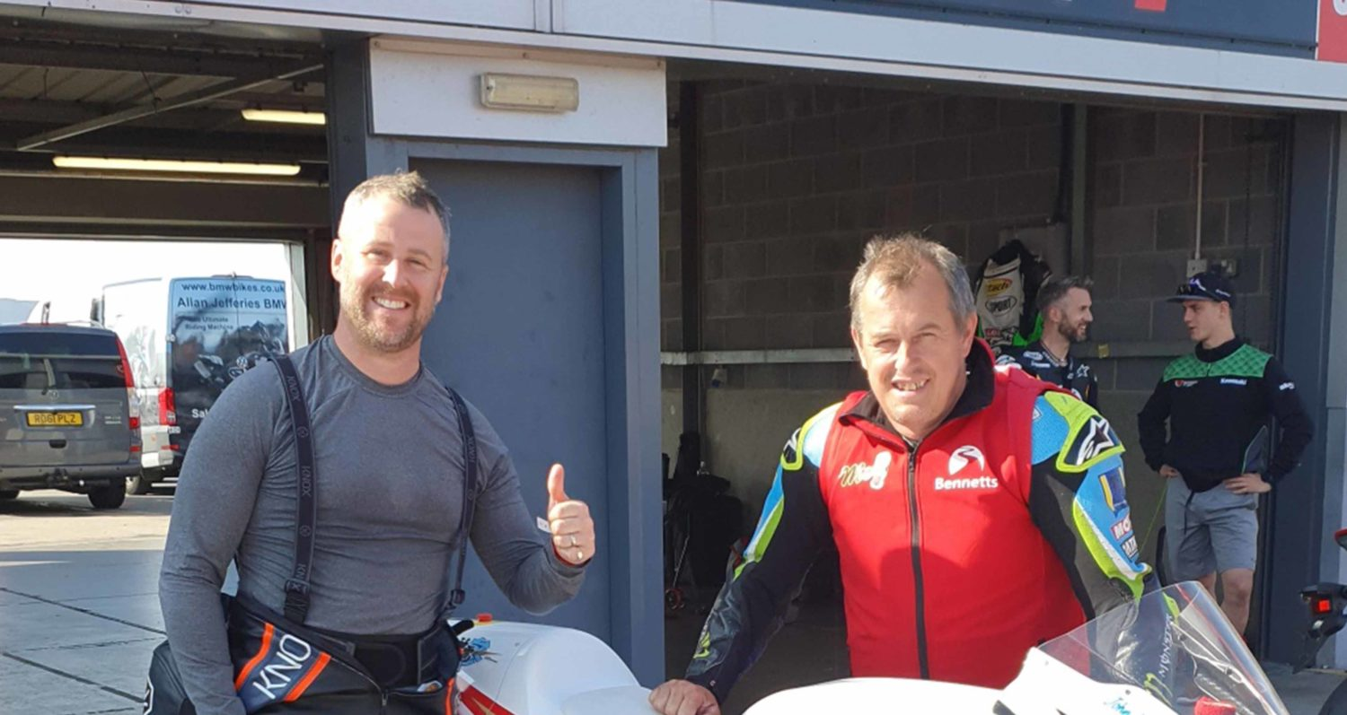 Track riding tips with John McGuinness MBE